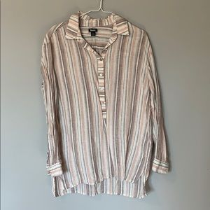 Roots Linen Button-up